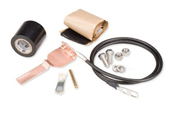 Wireless Site Coax grounding kit series Copper TapeType